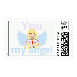 You Are My Angel Postage