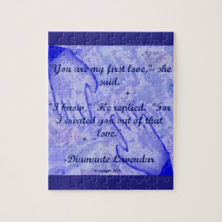 You Are My First Love by Diamante Lavendar Puzzle