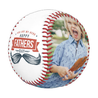 You Are My Hero Happy Father's Day Photo | Baseball