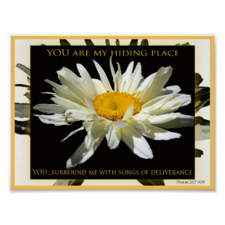 You Are My Hiding Place canvas print