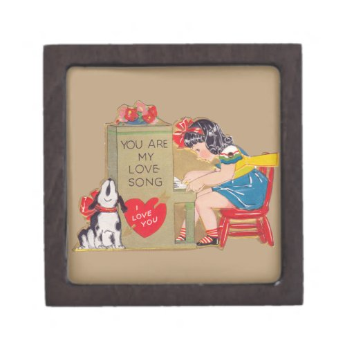 You are my Love Song Premium Trinket Box