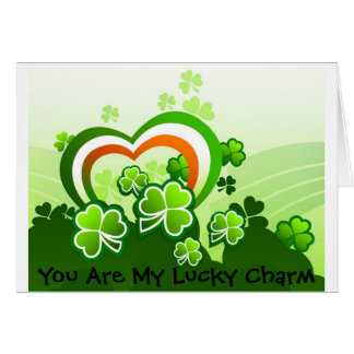 You Are My Lucky Charm Greeting Card