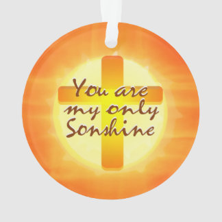 You are My Only Sonshine Ornament