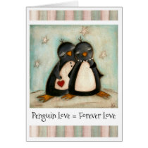 You Are My Penguin - Valentines Day Card