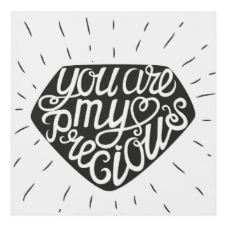 You Are My Precious Panel Wall Art