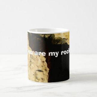 , you are my rock coffee mug