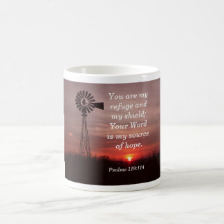 You are my Shield - Psalms quote - coffee cup