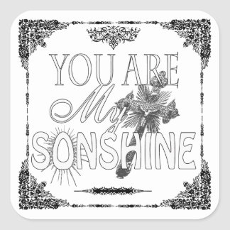 You Are My Sonshine Custom Sticker