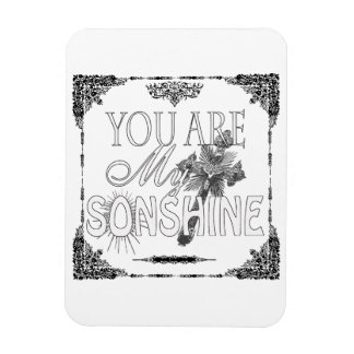 You Are My Sonshine Premium Sticker Rectangular Photo Magnet