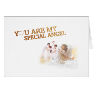 You Are My Special Angel – Customizable Inside! Card