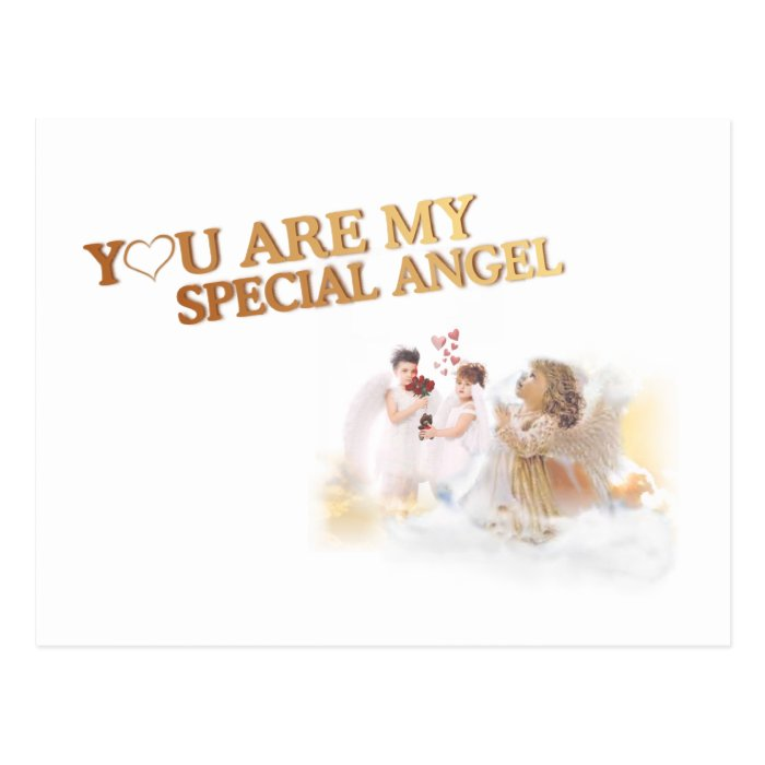 You Are My Special Angel – Customize It! Postcard