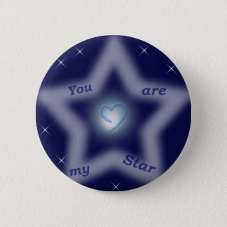"""You are my star"" Button"