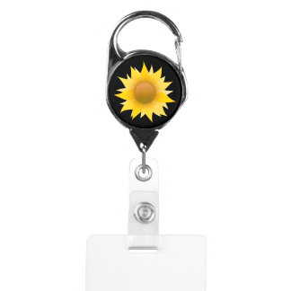 You Are My Sunflower Badge Holder