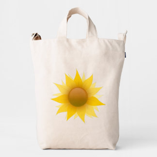 You Are My Sunflower BAGGU Duck Bag