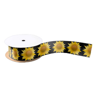 You Are My Sunflower Satin Ribbon