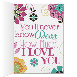 You are My Sunshine 3 Panel Greeting Card