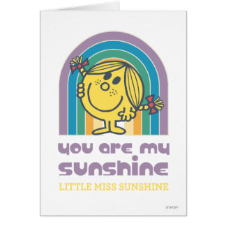 You Are My Sunshine Arch Card