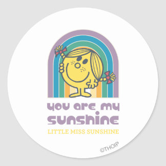 You Are My Sunshine Arch Classic Round Sticker