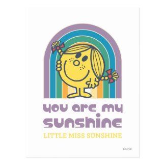 You Are My Sunshine Arch Postcard