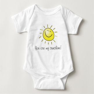 You are my sunshine baby bodysuit