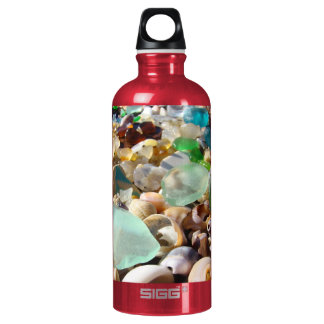 You are My Sunshine! Beach Seaglass Aluminum Water Bottle