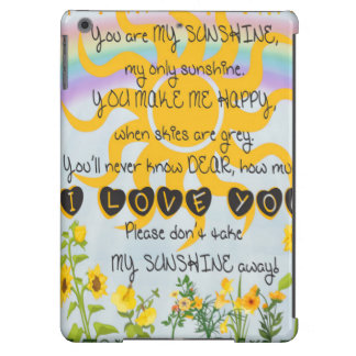 You Are My Sunshine Cover For iPad Air