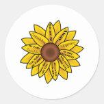 You are my Sunshine Classic Round Sticker