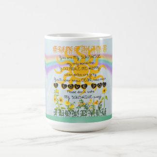 You Are My Sunshine Classic White Coffee Mug