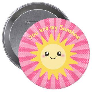 You are my Sunshine cute sun Pinback Button