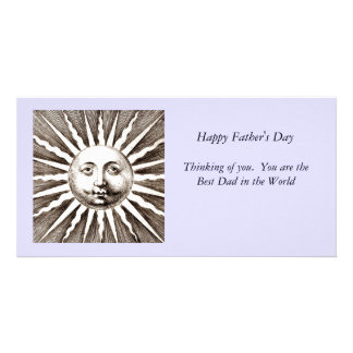 You Are My Sunshine Dad Card