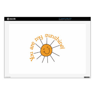 You Are My Sunshine Decals For Laptops