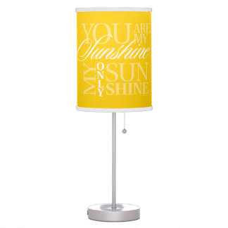 You Are My Sunshine Desk Lamp