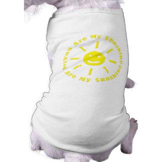 You Are My Sunshine Doggie Tee Shirt