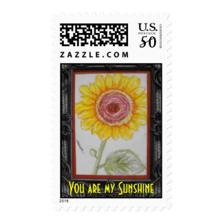 You Are My Sunshine Fine Art by JP Denyer Postage