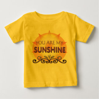 You are my sunshine for baby tee shirt