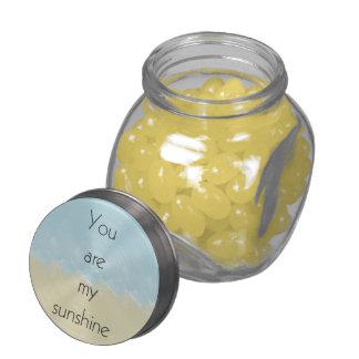 You Are My Sunshine Glass Jars