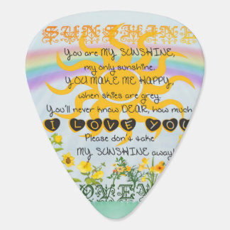 You Are My Sunshine Guitar Pick