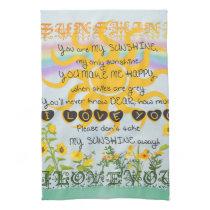 You Are My Sunshine Hand Towel