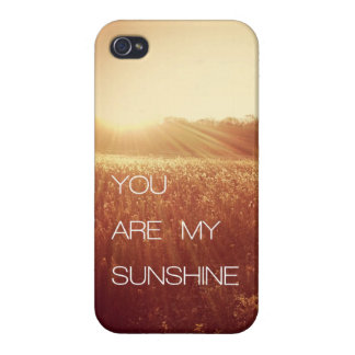 You Are My Sunshine iPhone 4 Cover