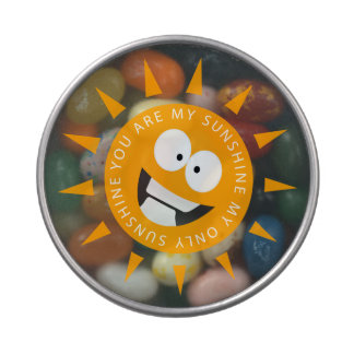 You Are My Sunshine Jelly Belly Candy Tins