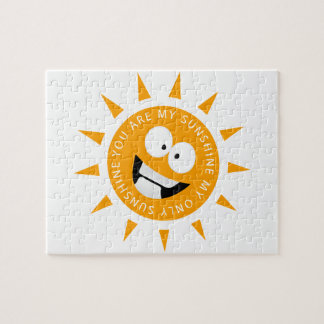 You Are My Sunshine Jigsaw Puzzle
