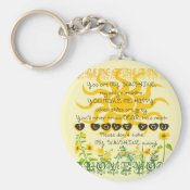 You are my Sunshine Keychain (<em>$3.70</em>)