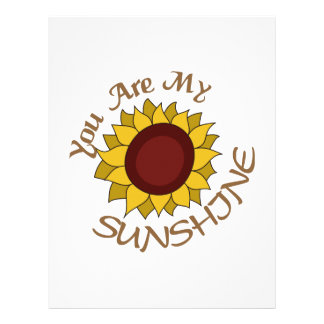 You Are My Sunshine Letterhead