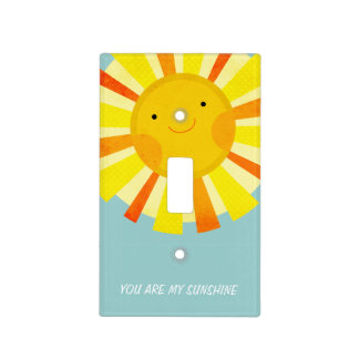 You Are My Sunshine Switch Plate Covers