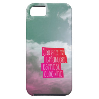 You are my sunshine love mindfull valentine iPhone SE/5/5s case