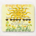 You are my sunshine... mouse pad (<em>$11.60</em>)
