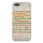 You are my Sunshine Orange/Teal/Cream Cases For iPhone 5