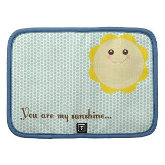 You are my sunshine... organizers