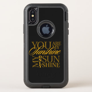You Are My Sunshine OtterBox Defender iPhone X Case