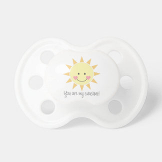You Are My Sunshine! BooginHead Pacifier
